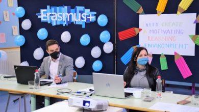Uvodno srečanje Erasmus+ projekta, 10. 11. 2020 in 11. 11. 2020
