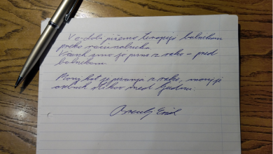 Teden pisanja z roko 2021